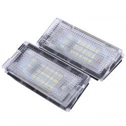 Pack module plaque arrière VAG AUDI A3 8P, A4 B7, Q7, A6 C6 (type A)- BIANCO 6000K