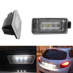 LED Licence plate - Peugeot 207 208 MK2 2008 208 Citroën C5 III