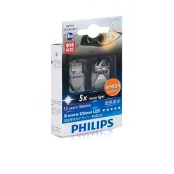2x WY21W LED X-trem Ultinon Philips - NO CANBUS - 12763X2