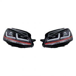 2x Scheinwerfer GTI Golf 7 OSRAM LEDriving LEDHL103-GTI für Phase 1