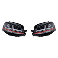 2x Headlights GTI Golf 7 OSRAM LEDriving LEDHL103-GTI for phase 1