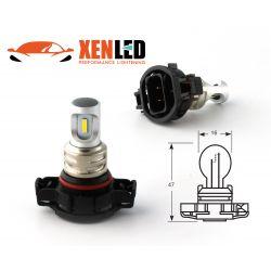 2 LED Bulbs PSX24W - 1600Lms - LED 1860 Fog lights & cornering lights