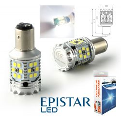 2X BULBS P21 / 5W XENLED V2.0 30 LED EPISTAR - CANBUS PERFORMANCE - WHITE