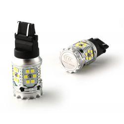 2X BULBS P27/7W XENLED V2.0 30 LED EPISTAR - CANBUS PERFORMANCE - WHITE