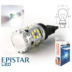 1x BULB P27W XENLED V2.0 30 LED EPISTAR - CANBUS PERFORMANCE - WHITE