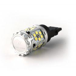 1x BULB P27W XENLED V2.0 30 LED EPISTAR - CANBUS PERFORMANCE - WHITE