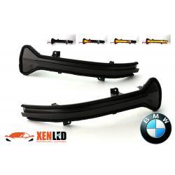 Répétiteurs Rétro LED Dynamique Défilant BMW Série 5 G30 G31 Série 6 G32 Série 7 G11 G12