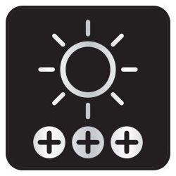 2X OSRAM PSX24W, FENDINEBBIA LED, 2604CW, 12V, 6.7W PG20-7