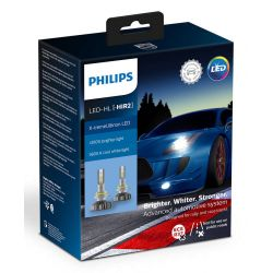 2X HIR2 9012 LED PHILIPS X-TREME ULTINON GEN2 5800K +250%