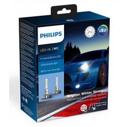 2x Lampen H1 LED PHILIPS X-Treme Ultinon