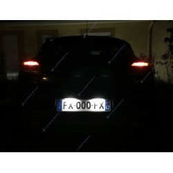 License plate modules for Renault