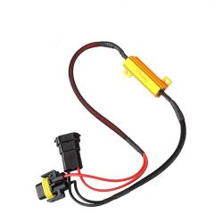 HB4 9006 LED resistor 50W