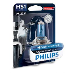 1x HS1 35/35W CrystalVision ultra Philips moto 12636BVBW