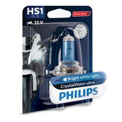 1x HS1 35/35W CrystalVision ultra Philips moto 12636BVBW