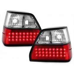LED taillights VW Golf II 83-92_red/crystal